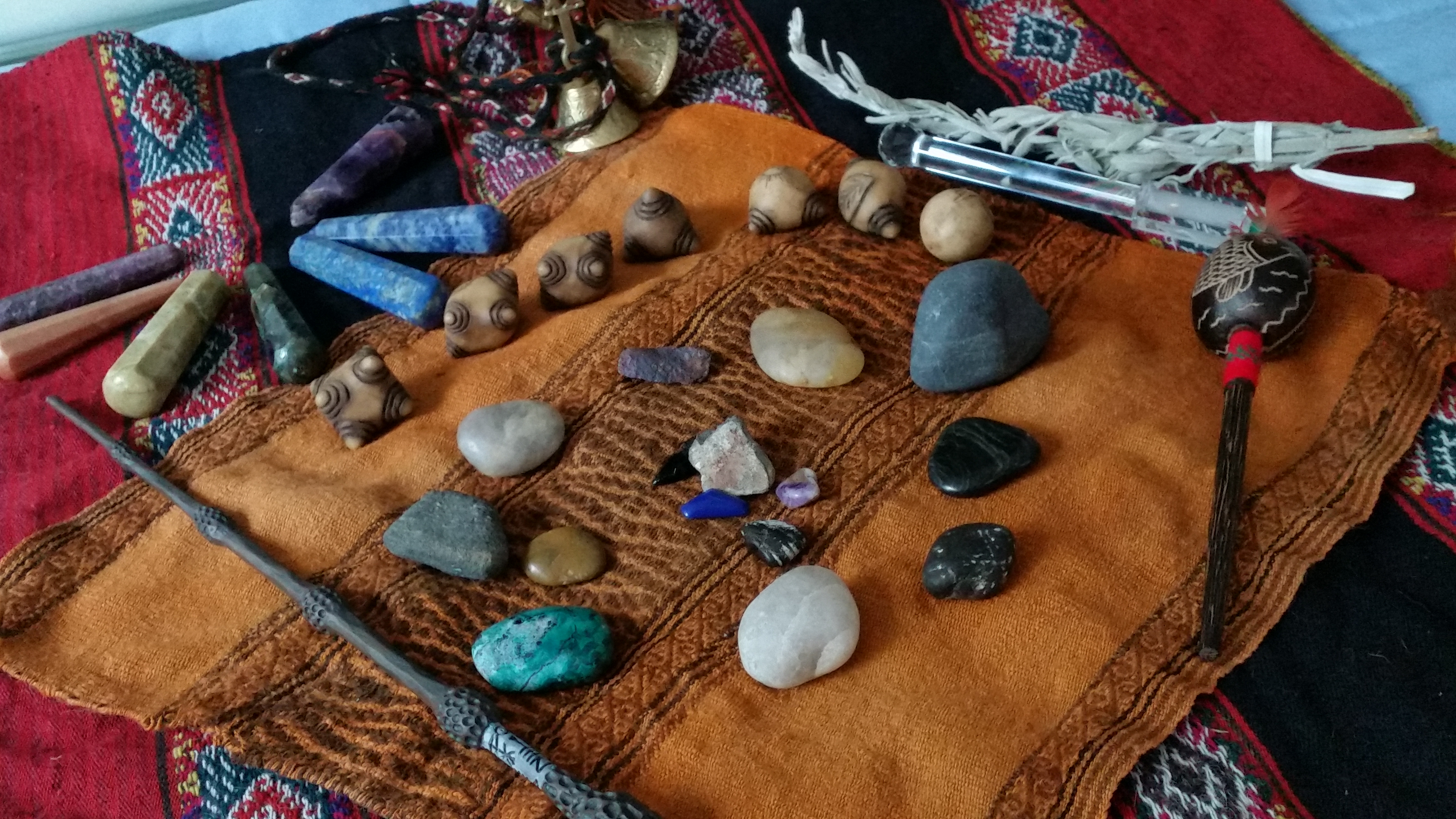 I practice shamanic healing.During a SPIRIT LIGHT session, I went outside of my body…